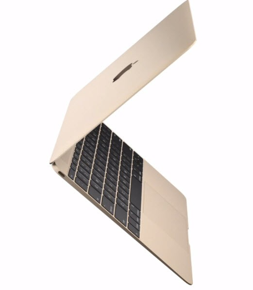 "MacBook 12"" Gold - MK4N2F/A - Intel Core M bicœur à 1,2 GHz/ 8GB/ 512GB flash"