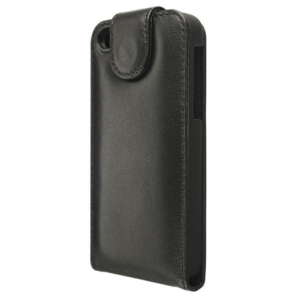 Artwizz SeeJacket Leather Flip for iPhone 5c - Black