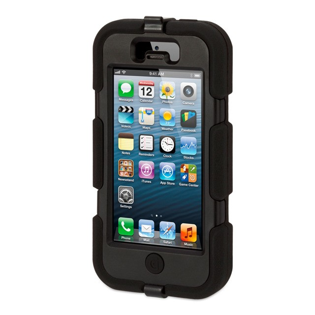 GRIFFIN - Survivor for iPhone 5/5s - Black