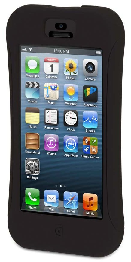 GRIFFIN - Survivor Slim for iPhone 5/5s - Black