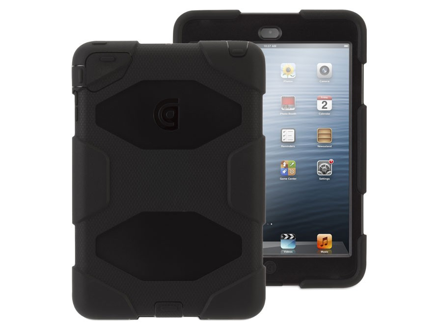 Griffin Survivor Saffron for iPad Air - Black