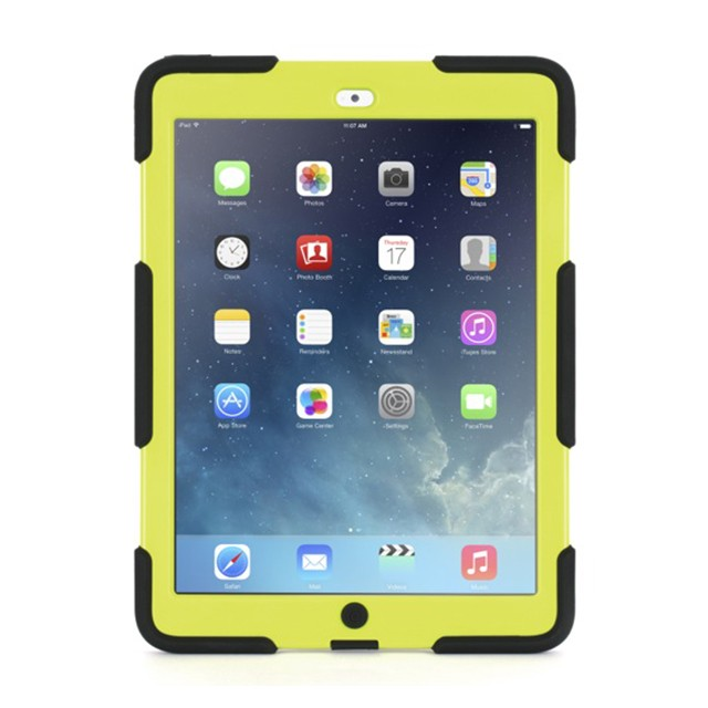 Griffin Survivor Salt for iPad Air - Black & Citron