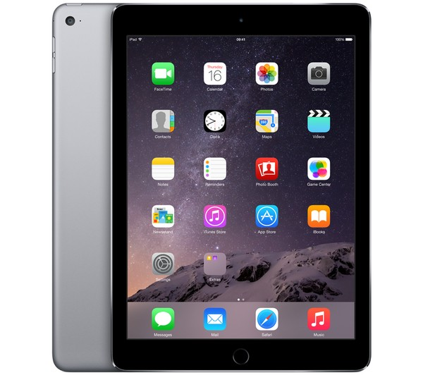iPad Air 2 - WiFi + Cellular - 16 Go - Space Grey - MGGX2NF/A