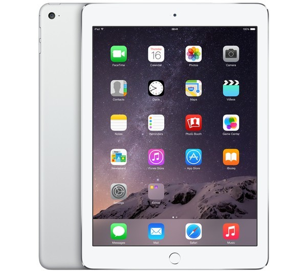 iPad mini 4 - WiFi + Cellular - 128 Go - Silver - MGJ32NF/A