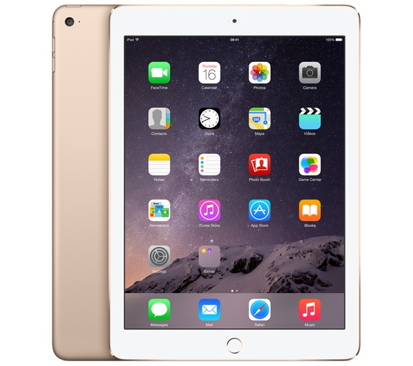 iPad Air 2 - WiFi + Cellular - 16 Go - Gold -  MH1C2NF/A