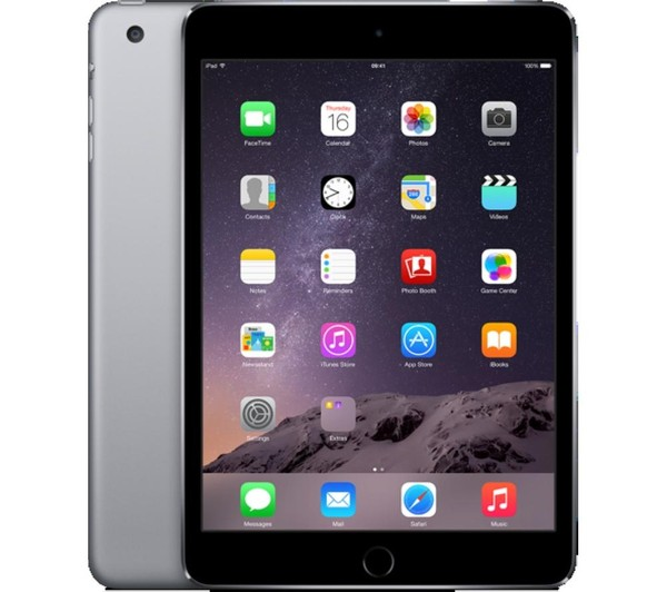 iPad mini 4 - WiFi + Cellular - 16 Go - Space Grey - MGHV2NF/A