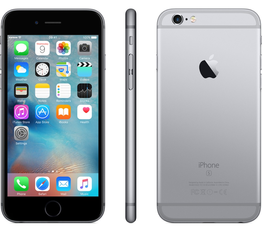 iPhone 6s - 32 Go - Space Grey - MN0W2AA/A