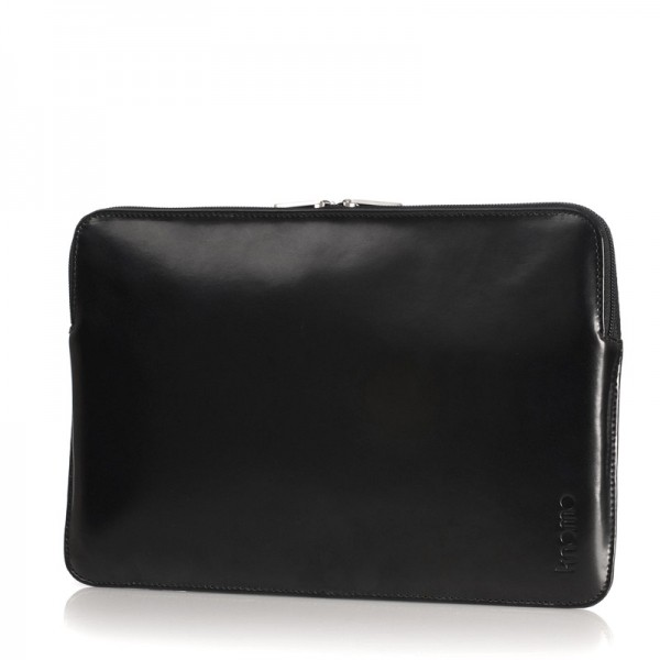 "Tucano Zip Sleeve Leather for MacBook Air 11"" - Black"