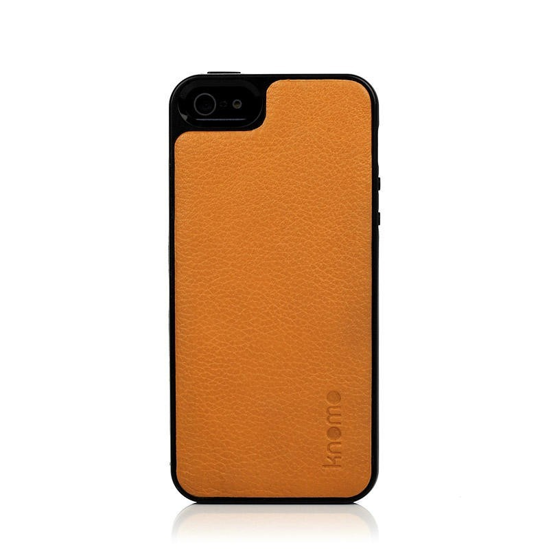 Knomo - Moulded Open Face for iPhone 5/5s - Burnt Ochre