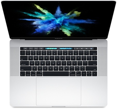 MacBook Pro 15'' Touch Bar - 2,8 Ghz/256 Go/16 Go - Silver - MPTU2FN/A