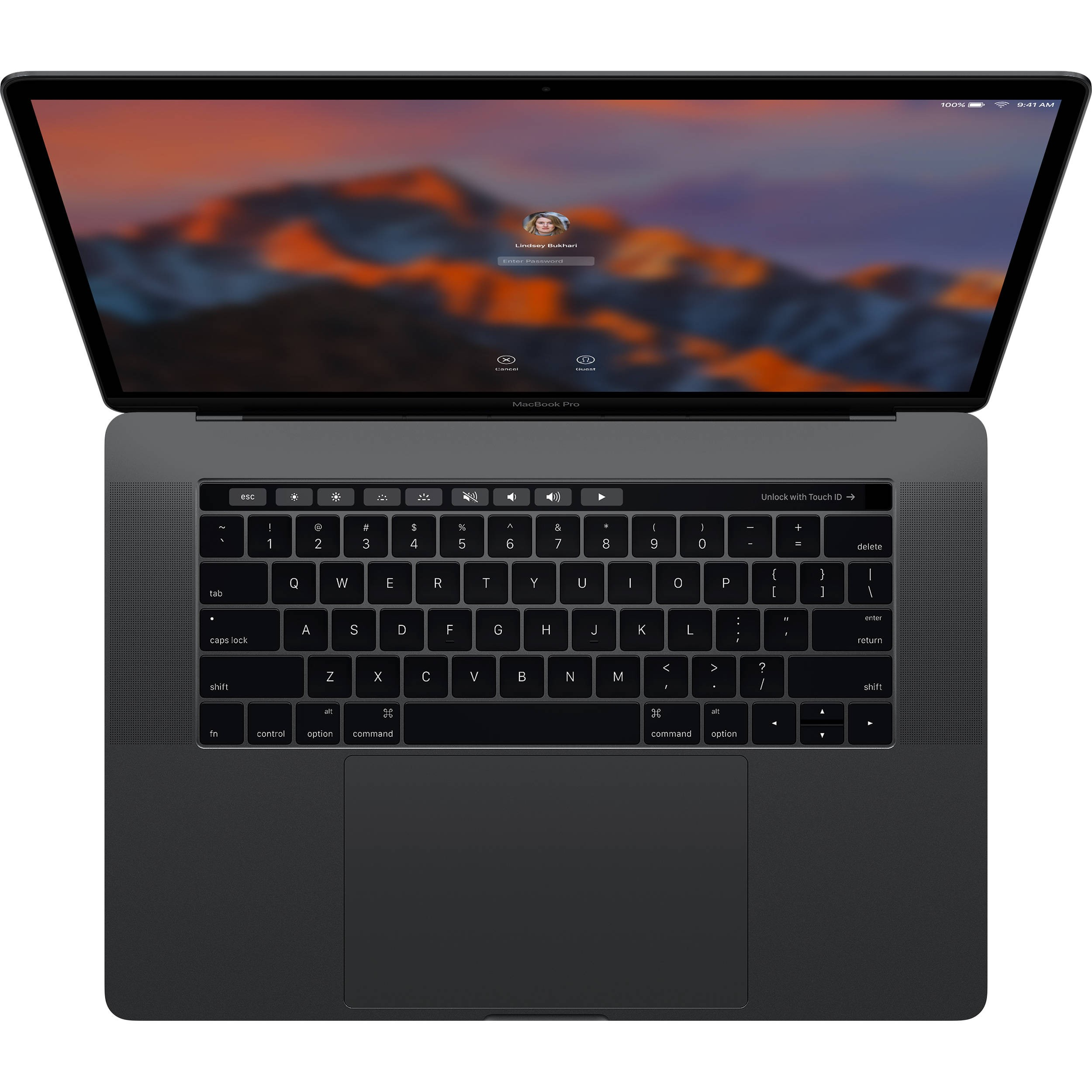 MacBook Pro 15'' Touch Bar - 2,9 Ghz/512 Go/16 Go - Space Grey - MPTT2FN/A