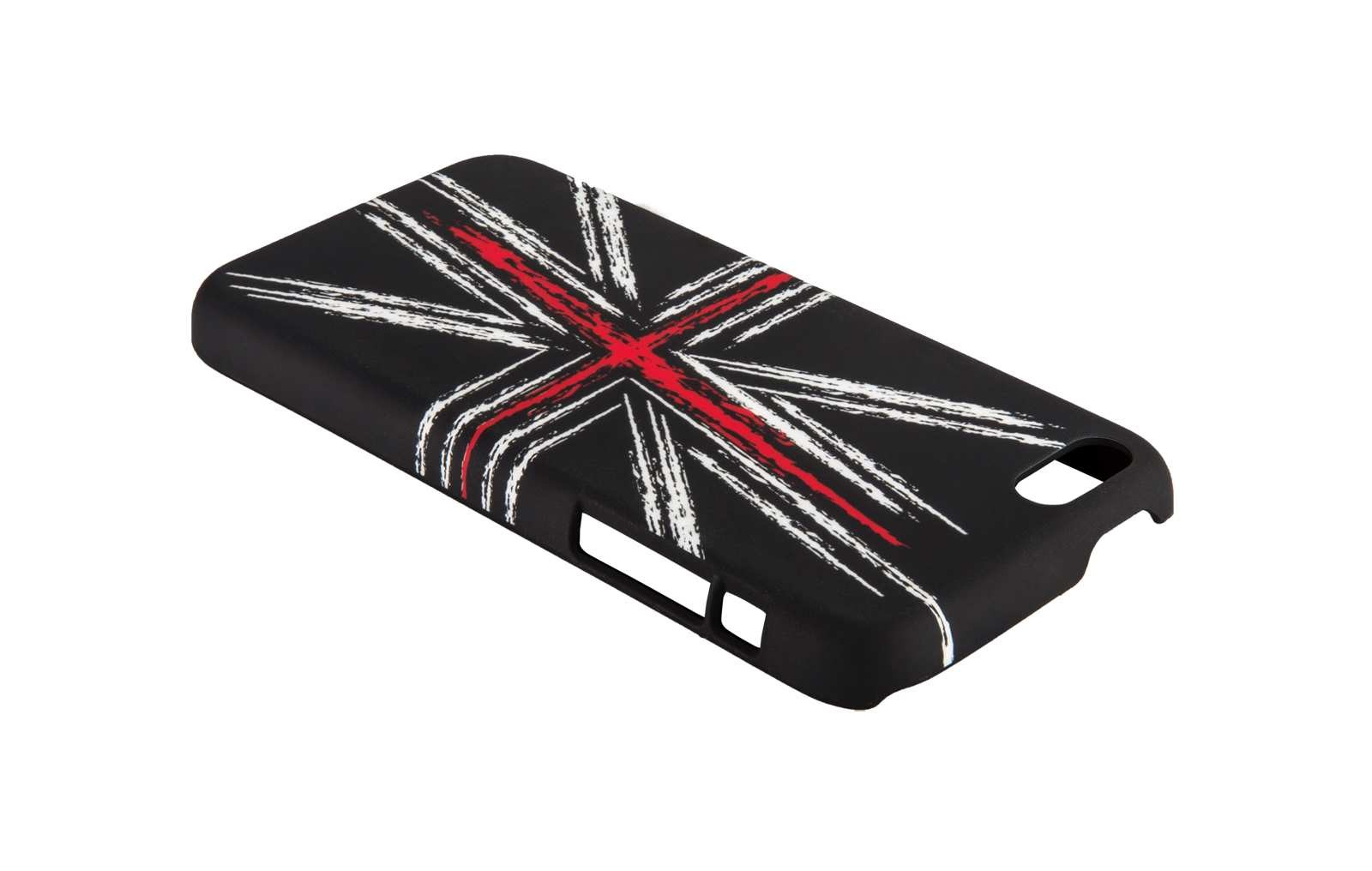 QDOS - Union Jack Chalkies for iPhone 5c - Black