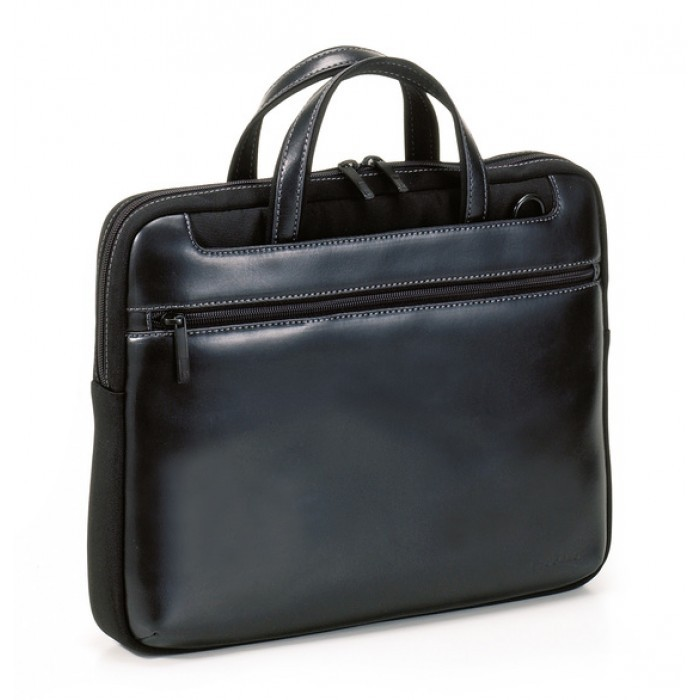 "Tucano Leather Work-Out Stile Large for Apple 15"" - Black"