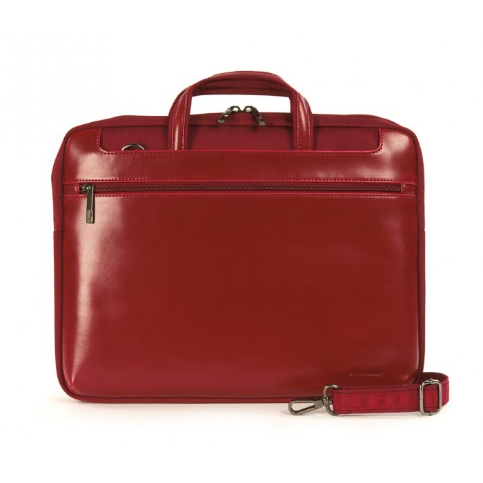 "Tucano Leather Work-Out Stile Medium for Apple 13"" - Red"